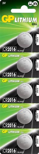 PILAS        GP      CR2016-B5 3V BOTON