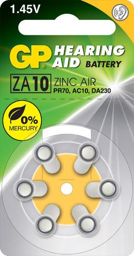 PILAS        GP      ZA010-B6 1,4V
