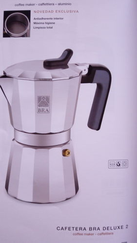 CAFETERA     BRA     LUXE 2           9T